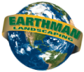 Sarasota Landscape Design, Custom Pool Waterfalls, Water Features & Ponds | Earth Man Landscaping Logo
